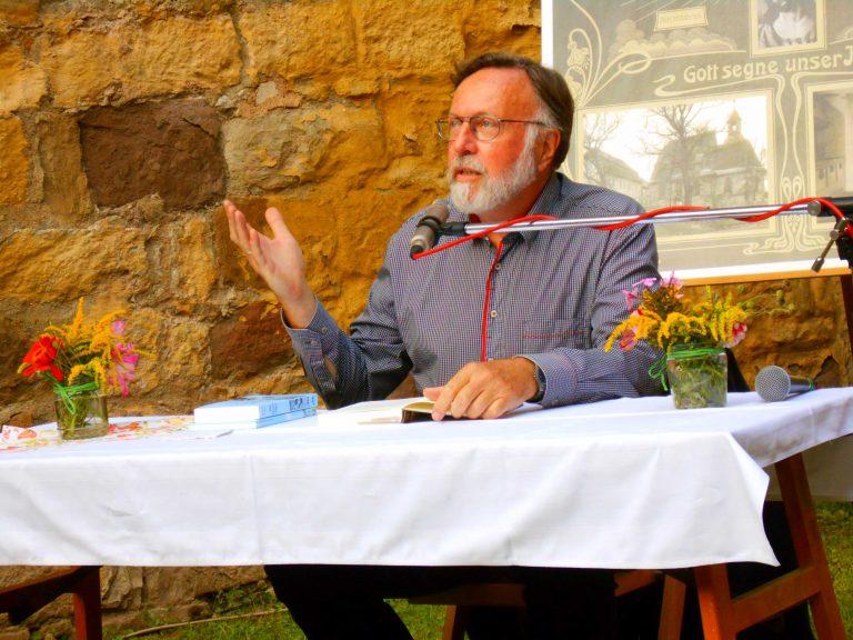 Der Theologe und Buchautor Albrecht Gralle